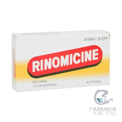 Rinomicine 10 Comprimidos
