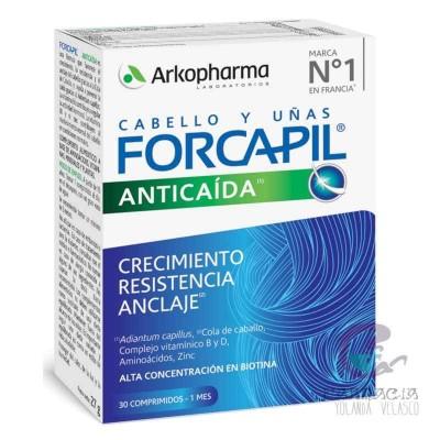 Forcapil Caída Cabello 30 Cápsulas