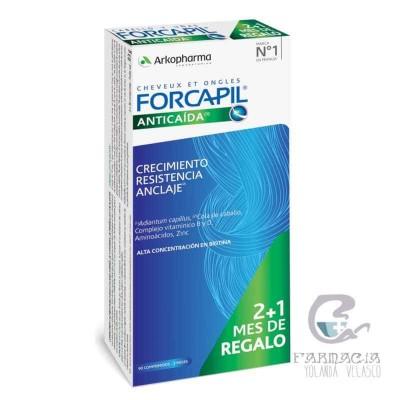 Forcapil anticaída 90 Comprimidos Pack