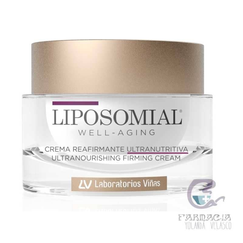 Liposomial Weel-Aging Crema Reafirmante Ultranutritiva 1 Envase 50 ml