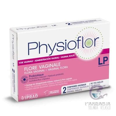 Physioflor 2 Comprimidos Vaginales
