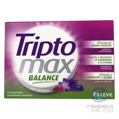 Triptomax Balance 15 Comprimidos