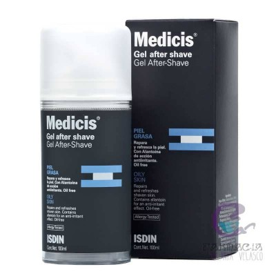 Isdin Medicis After Shave Gel 100 ml