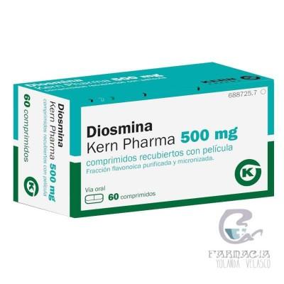 Diosmina Kern Pharma 500 mg 60 Comprimidos Recubiertos