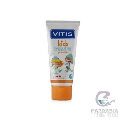 Vitis Kids Gel Dentífrico 1 Envase 50 ml
