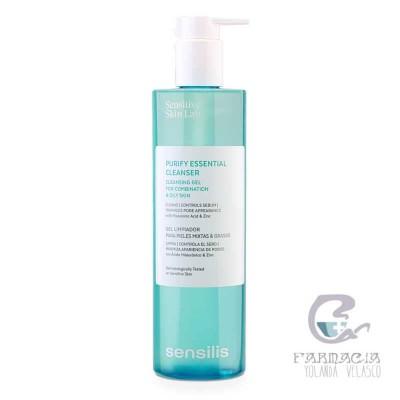 Sensilis Purify Essential Cleanser Gel Limpieza 400 ml