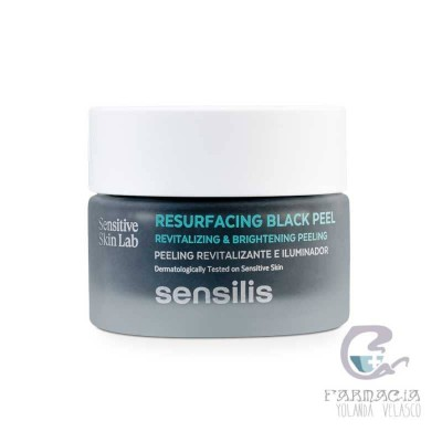 Sensilis Resurfacing Black Peel Peeling Facial 50 gr
