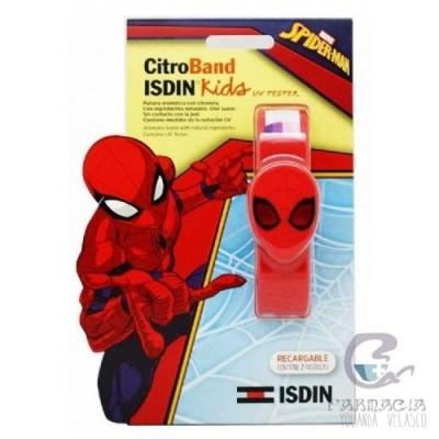 Citroband Isdin Kids+UV Tester Pulsera Edición Especial Spiderman