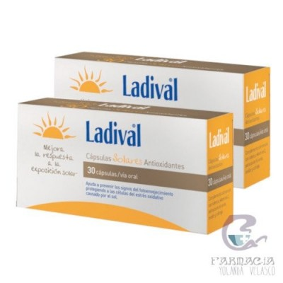 LADIVAL CAPSULAS SOLARES ANTIOX 30 UNIDADES